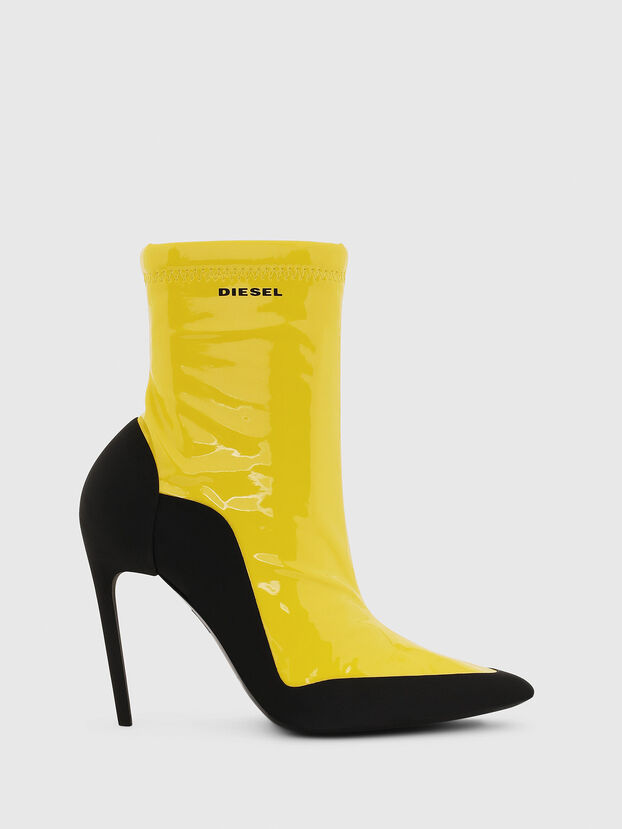 D-SLANTY ABH, Jaune - Bottines