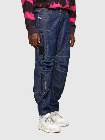 Diesel - D-KARGO, Bleu moyen - Pantalons - Image 7
