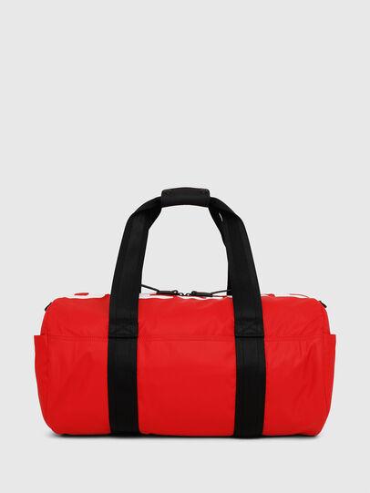 Diesel - F-BOLD DUFFLE, Rouge - Sacs de voyage - Image 1