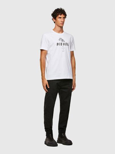 Diesel - T-DIEGOS-N30, Blanc - T-Shirts - Image 4