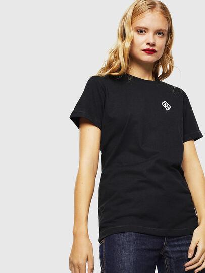 Diesel - CC-T-DIEGO-COLA, Noir - T-Shirts - Image 3