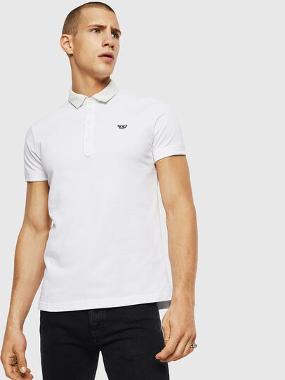 Diesel - T-MILES-NEW, Blanc - Polos - Image 1