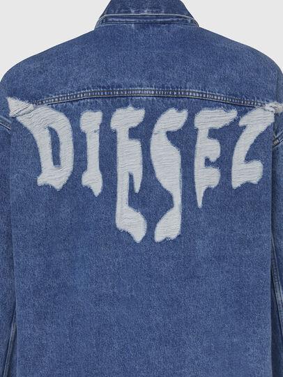 Diesel - D-RAF, Bleu moyen - Vestes en denim - Image 5
