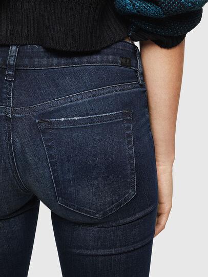 Diesel - Slandy Low 0870C, Bleu Foncé - Jeans - Image 4