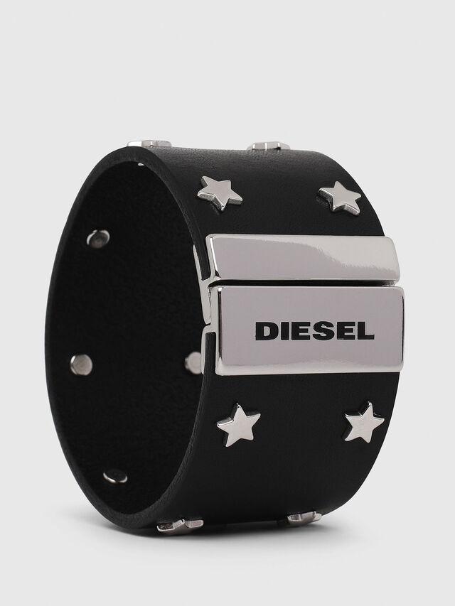 Diesel - CL-STARRY, Noir/Gris argenté - Bijoux et Gadgets - Image 1