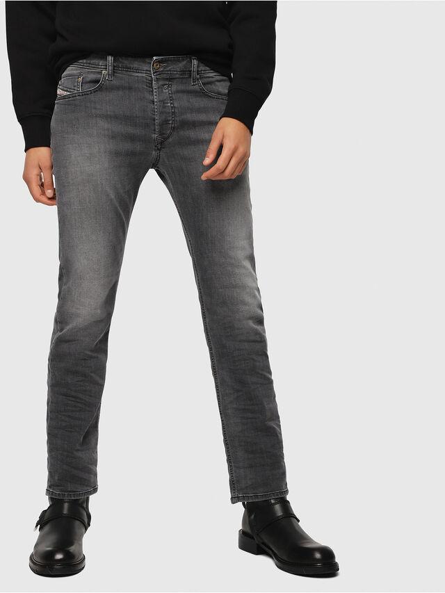 Diesel - Waykee 0662U, Noir/Gris foncé - Jeans - Image 1
