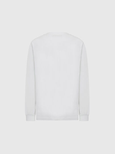 Diesel - T-JUST-LS-MOHI, Blanc - T-Shirts - Image 2