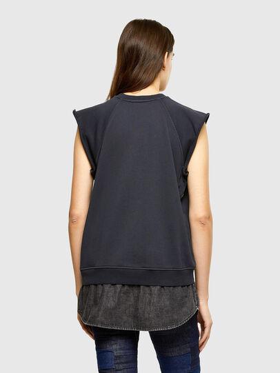 Diesel - F-ELPA, Noir - Pull Cotton - Image 2