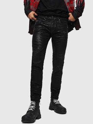 Sleenker 0091F, Noir/Gris foncé - Jeans