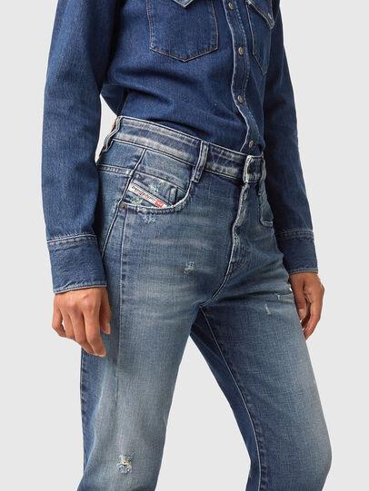 Diesel - Fayza 09A54, Bleu moyen - Jeans - Image 3