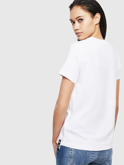 Diesel - T-SILY-S8, Blanc - T-Shirts - Image 2