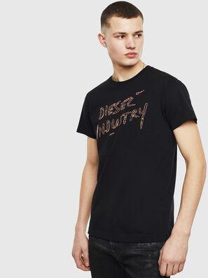 T-DIEGO-S15, Noir - T-Shirts