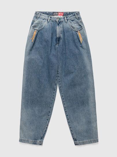 Diesel - DxD-P1 0CBBL, Bleu Clair - Jeans - Image 1