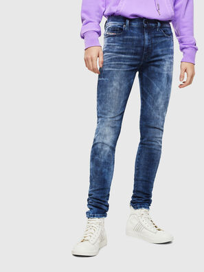D-Amny 0096Q, Bleu moyen - Jeans