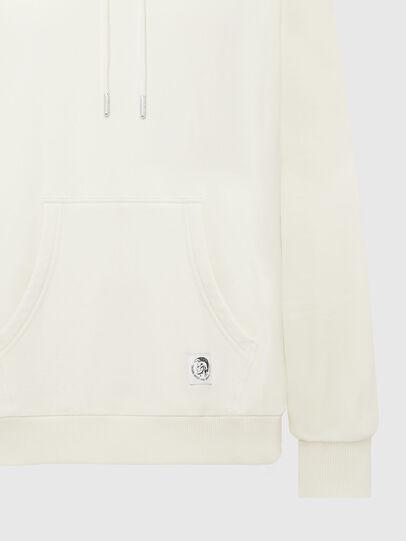 Diesel - S-GIRK-HOOD-MOHI, Blanc - Pull Cotton - Image 3