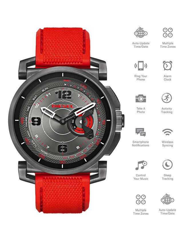 Diesel - DT1005, Rouge - Smartwatches - Image 1