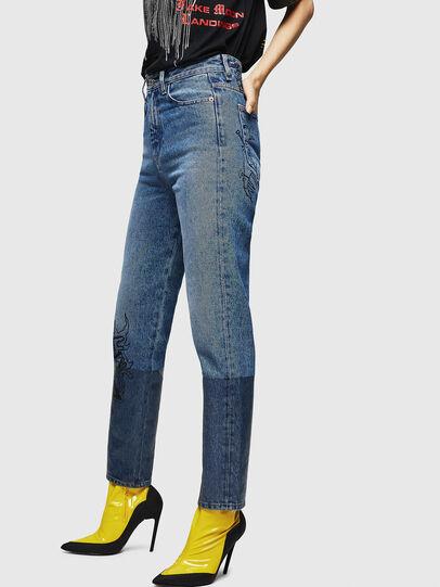 Diesel - D-Eiselle 0078T, Bleu Clair - Jeans - Image 3