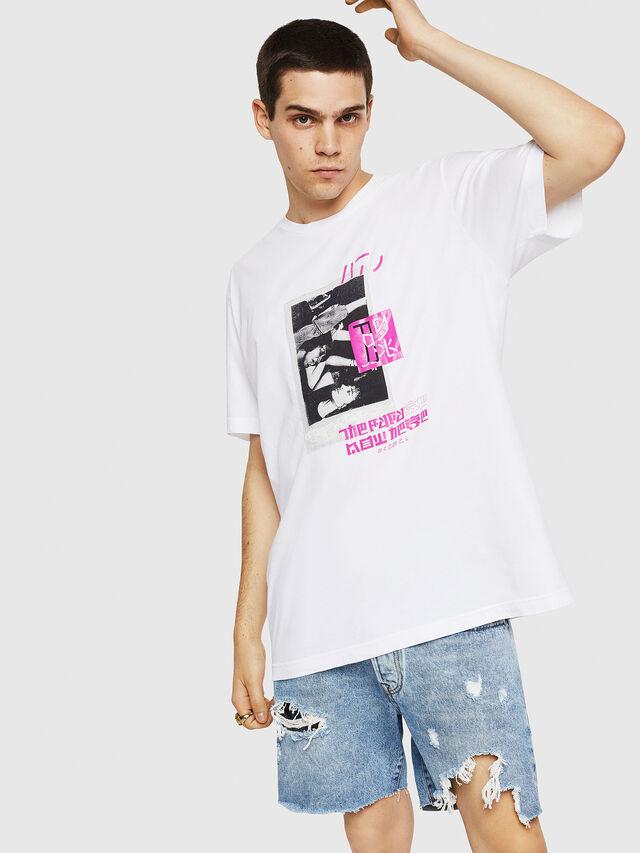Diesel - T-JUST-Y21, Blanc - T-Shirts - Image 1