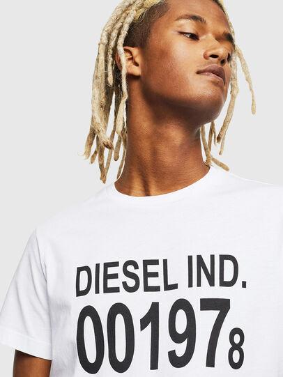 Diesel - T-DIEGO-001978, Blanc - T-Shirts - Image 4