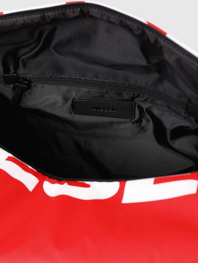 Diesel - F-BOLD DUFFLE, Rouge - Sacs de voyage - Image 5