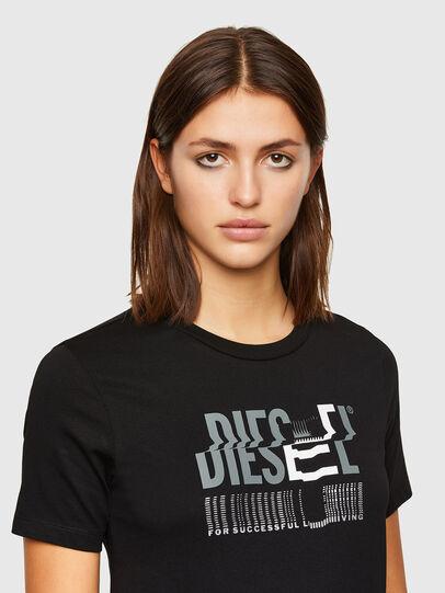 Diesel - T-SILY-K6, Noir/Gris - T-Shirts - Image 3