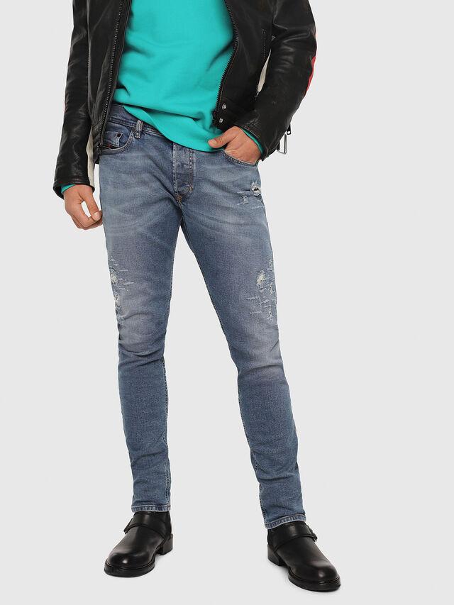 Diesel - Tepphar 080AC, Bleu moyen - Jeans - Image 1