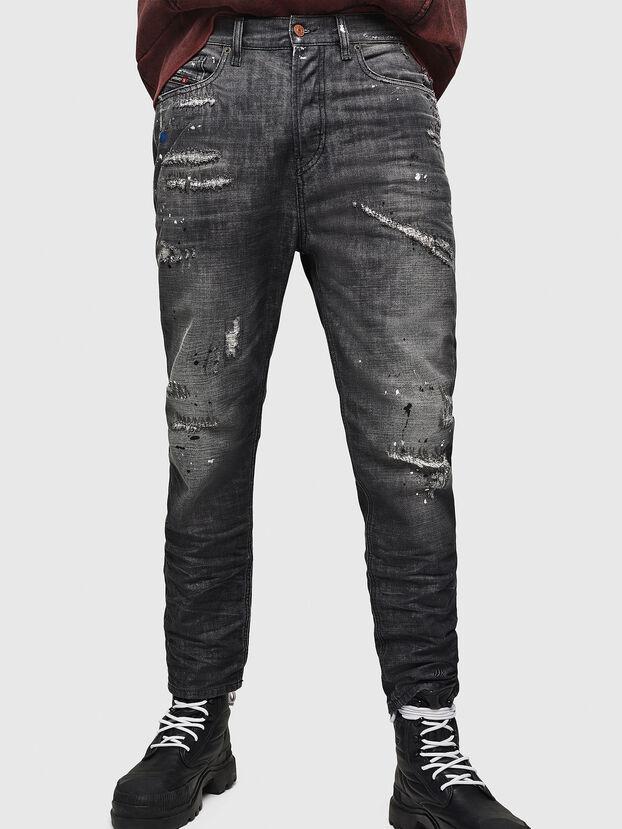 D-Vider 083AB, Noir/Gris foncé - Jeans