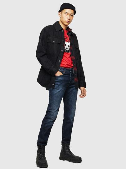 Diesel - Buster 0095W, Bleu Foncé - Jeans - Image 5
