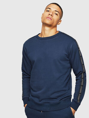 UMLT-WILLY, Bleu - Pull Cotton