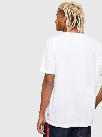 Diesel - CC-T-JUST-COLA, Blanc - T-Shirts - Image 5