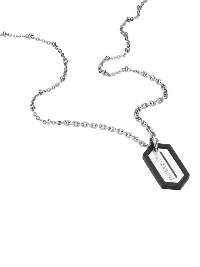NECKLACE DX0995, Argent