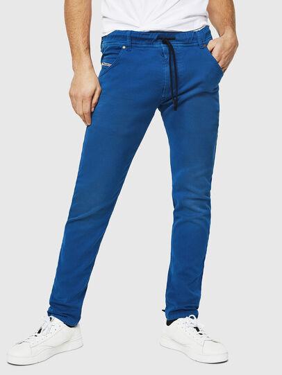 Diesel - Krooley JoggJeans 0670M, Bleu Brillant - Jeans - Image 1