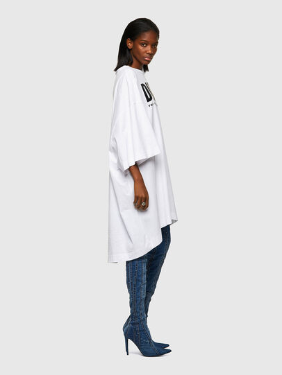 Diesel - D-EXTRA-ECOLOGO, Blanc - Robes - Image 4