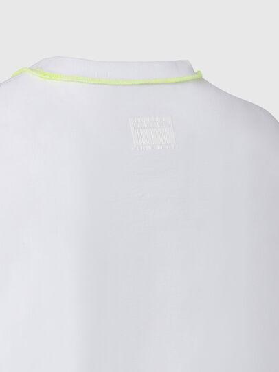 Diesel - T-JUSEAM, Blanc - T-Shirts - Image 4