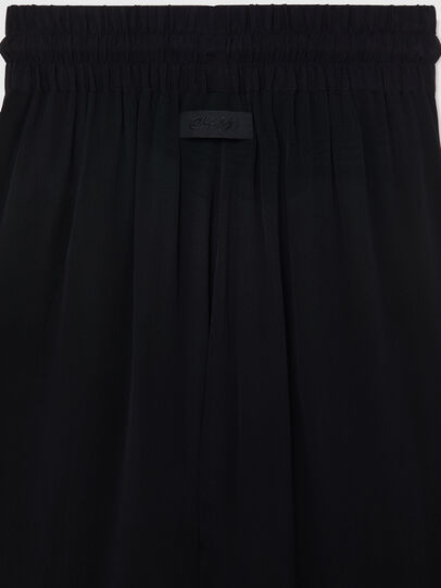 Diesel - P-CHINILLE-WOV, Noir - Pantalons - Image 4