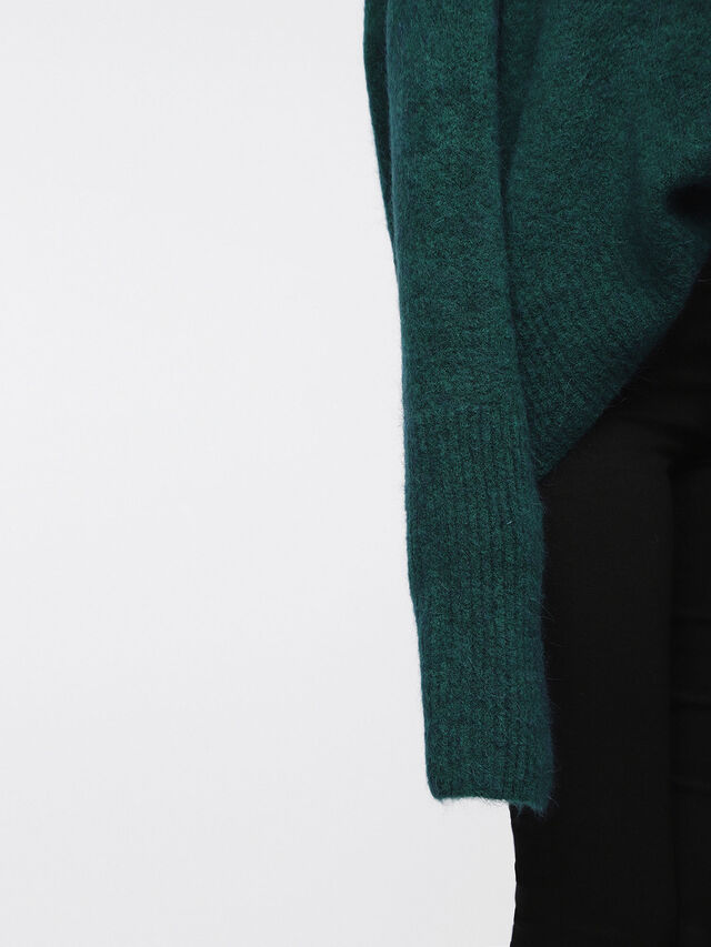 Diesel - M-ALPY, Vert Bouteille - Pull Maille - Image 3