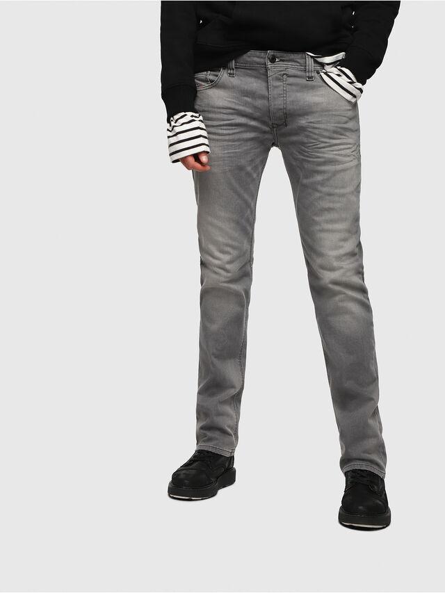 Diesel - Safado C84HP, Gris Clair - Jeans - Image 1