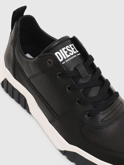 Diesel - S-RUA LOW, Noir - Baskets - Image 4
