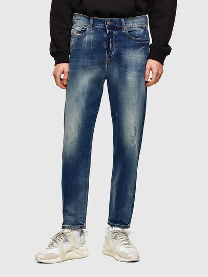 Diesel - D-Vider 009RS, Bleu Foncé - Jeans - Image 1