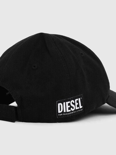 Diesel - LR-CAP, Noir - Chapeaux - Image 3