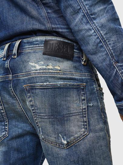 Diesel - Thommer JoggJeans 0870Q, Bleu moyen - Jeans - Image 5