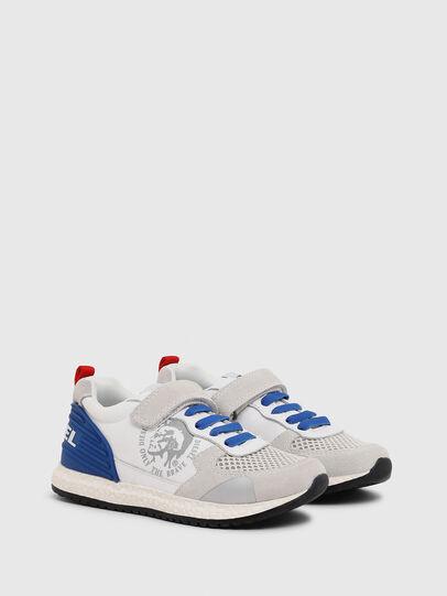 Diesel - SN RUNNER 01 LC CH, Blanc/Bleu - Footwear - Image 2