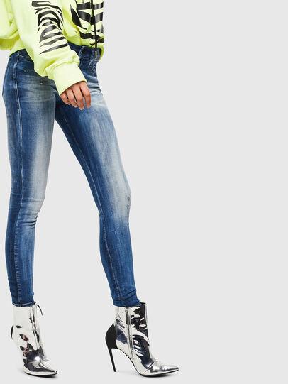 Diesel - Slandy 0095C, Bleu moyen - Jeans - Image 4