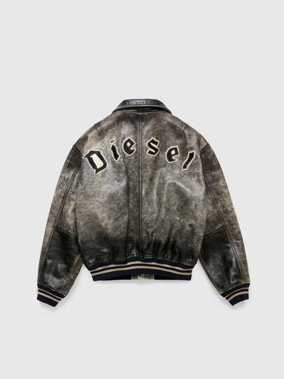 Diesel - DxD-2, Noir - Vestes de cuir - Image 2