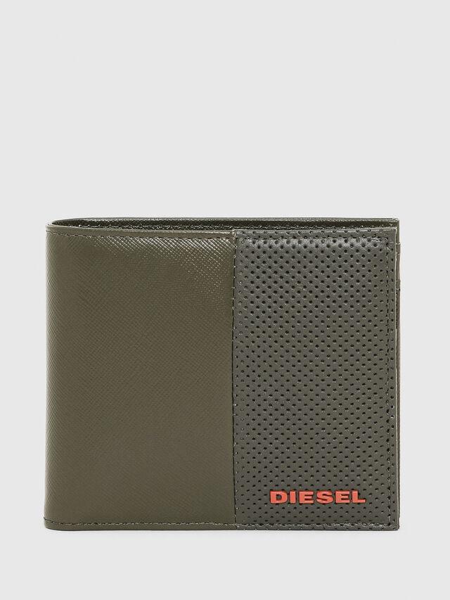 Diesel - HIRESH S, Vert Olive - Petits Portefeuilles - Image 1