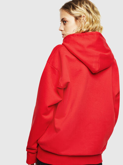 Diesel - S-ALBY-YA, Rouge - Pull Cotton - Image 4