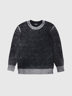 KCONF, Noir/Gris - Pull Maille