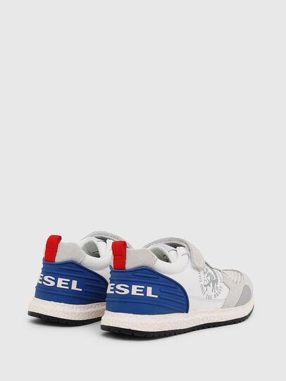 Diesel - SN RUNNER 01 LC CH, Blanc/Bleu - Footwear - Image 3