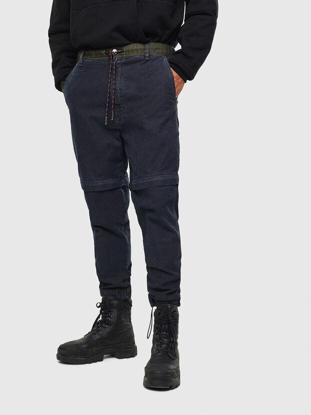 D-Everi JoggJeans 009BI, Bleu Foncé - Jeans