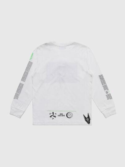 Diesel - TJUSTLS-NEW, Blanc - T-shirts et Hauts - Image 2